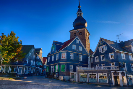 Historical market place in Lennep