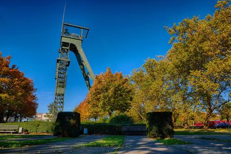 Autumn in a public park in Oberhausen