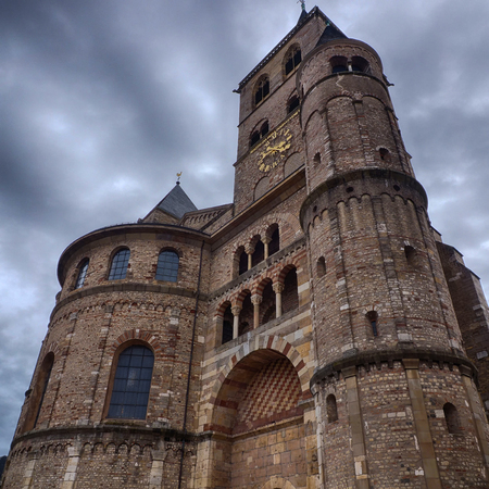 Old cathedral in Treves