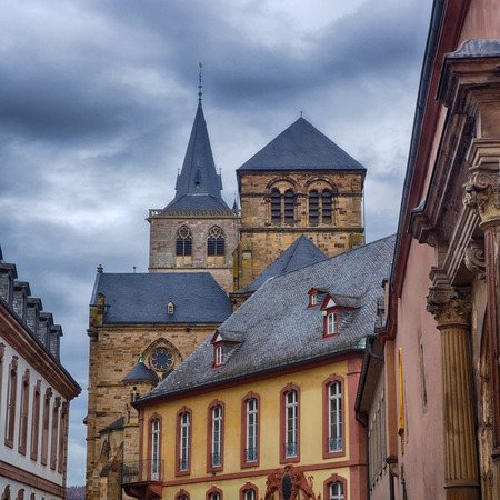 Historical center of Treves in Germany