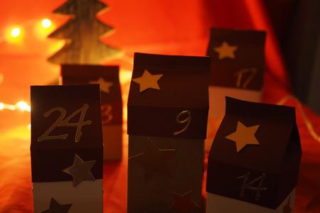 Hand-crafted advent calendar