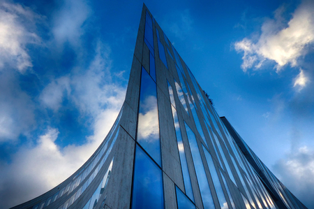 Modern architecture in Duesseldorf