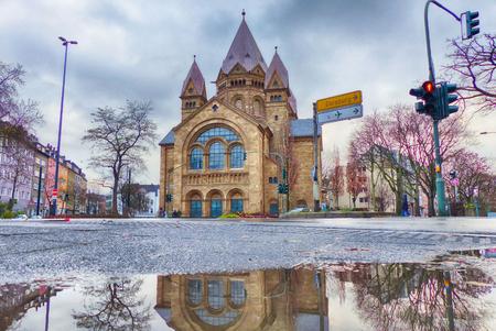 Old church in Duesseldorf Derendorf