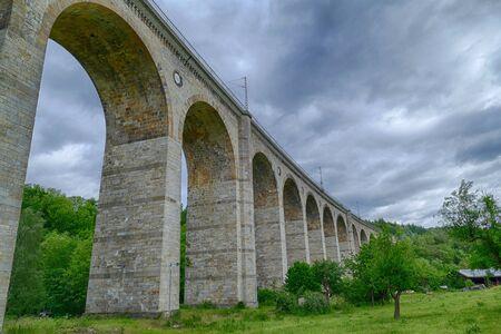 Railway viaduct and landmark in Altenbeken