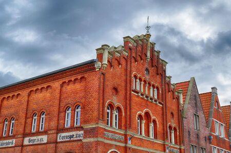 Historical factory building in Emden in East Frisia