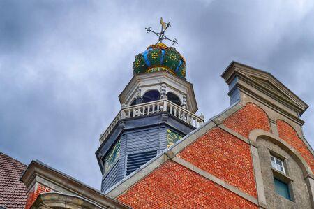 Spire of a historical church in Emden