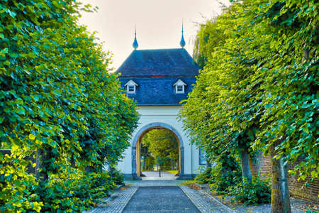 Historic gate of a monastery in Knechtsteden