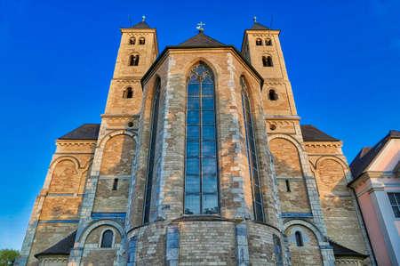 Historical monastery building in Knechtsteden in Germany Stok Fotoğraf - 152082869