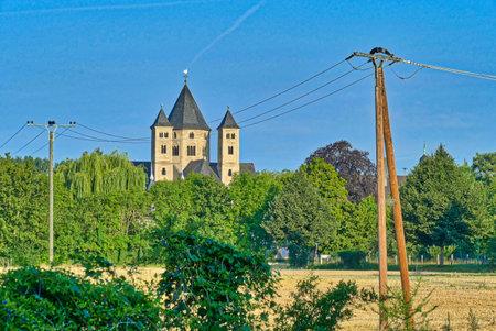 Rural monastery in Knechtsteden in Germany Editöryel