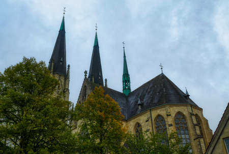 Historical cathedral building in Billerbeck in Germany