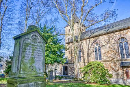Historical church in Essen Rellinghausen