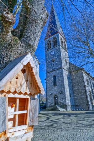 Old church building of Gruiten Dorf