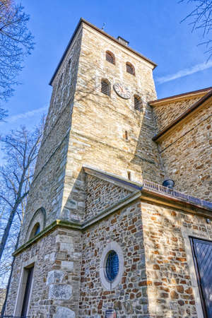 Historical church building in Essen Rellinghausen