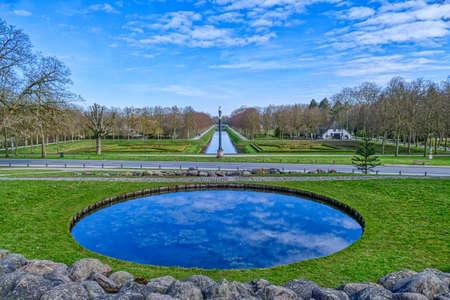 A historical park in the Tiergarten zoo in Kleve