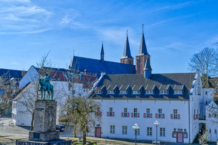 View across the historical center of Kleve