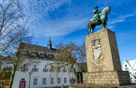 Statue in the historical center of Kleve