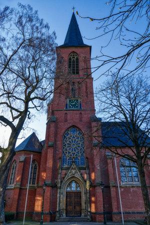 Historical church in Dusseldorf Eller