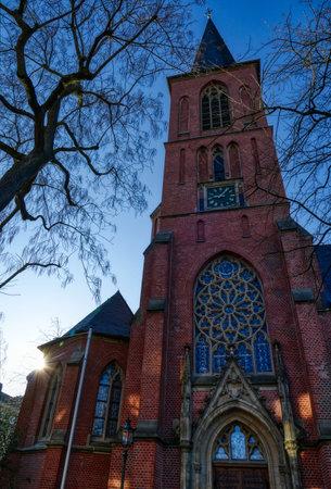 Historical church building in Dusseldorf Eller