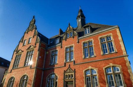 Historical administration building in Dusseldorf Eller