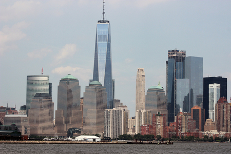 New York City Skyline with the New World Trade Center