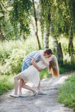 love park: couple in love