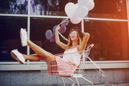 stylish Girl HD Stock Photo