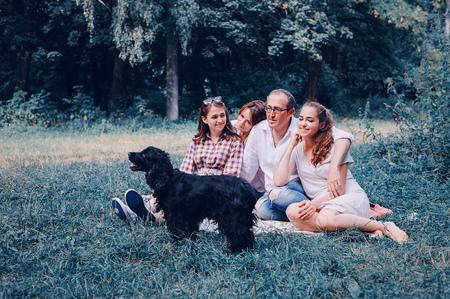 happy family HD Stock Photo