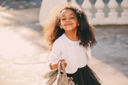 little black girl Stock Photo