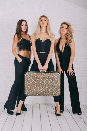 Fashion models Stock Photo