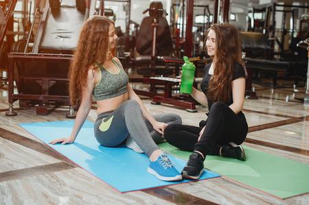 girls in a gym