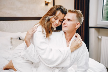 Couple in a hotel