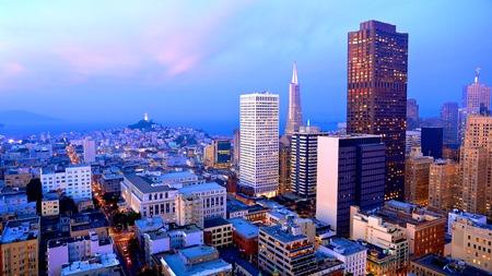 San Francisco Skyline at Dusk photo