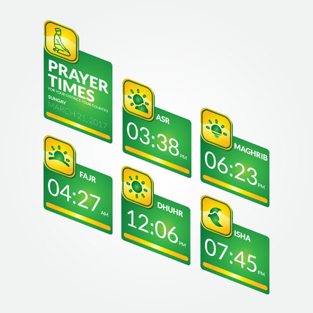 muslim prayer ui template