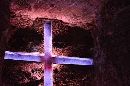 viacrucis: Salt Cathedral of Zipaquira Cundinamarca