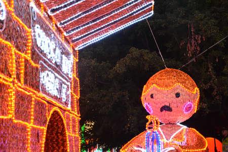 antioquia: Christmas lights in Medellin, Antioquia