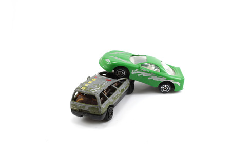 two cars collision