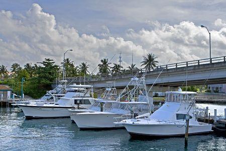 Deep sea fishing boat in a marina. Stock Photo - 3809657