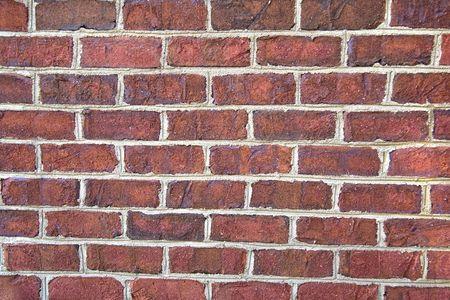 닫기 최대 붉은 벽돌 벽의 배경 스톡 콘텐츠