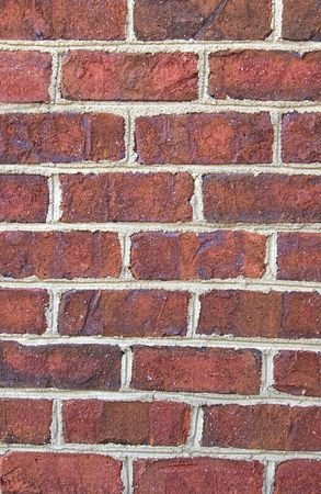 Close up background of a brick wall. Stock Photo - 4336036