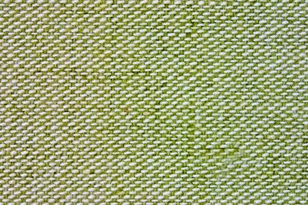 Close up background of green and white fabric. Stock Photo - 4361220