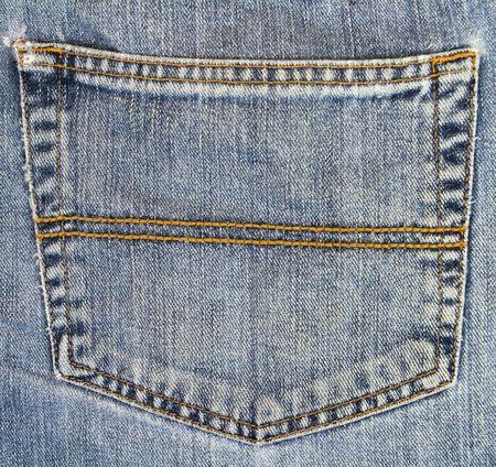 Jeans Back Pocket Texture pair of jeans back pocket