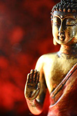 buddhist meditation: Buddha statue.