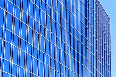 Modern office building with glass windows. Stock Photo - 703148