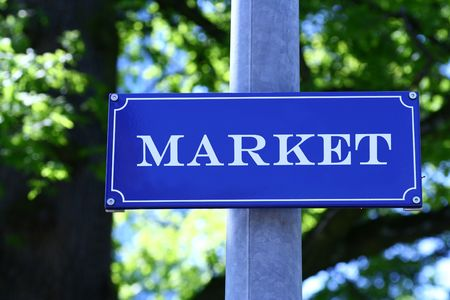 Street sign which says Stock Photo - 703137