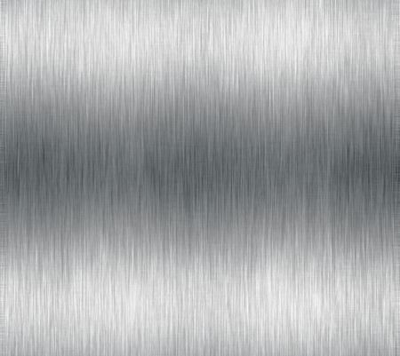 Brushed metal or aluminium effect for background use. Stock Photo - 2429450