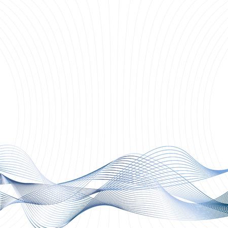linee vettoriali: Vector - Metallo mezzitoni retr� linee che formano un 'ondata di fondo per l'uso.