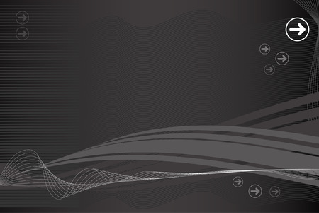 in use: Vector - Modern technology wave for background use. Illustration
