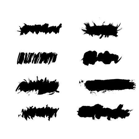 insertion: Vector - Grunge ink splat brush can be used for border, text insertion or  Illustration