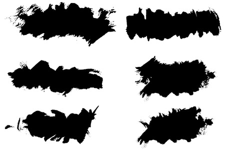 Vector - Grunge ink splat brush can be used for border, text insertion or background