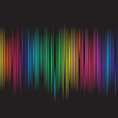 fluorescent tube: Vector - Colorful spectrum for background abstract use